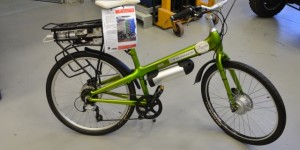 e-Bike with Fuel Cell Range Extender